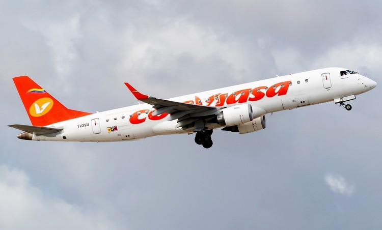самолет авиакомпании Conviasa